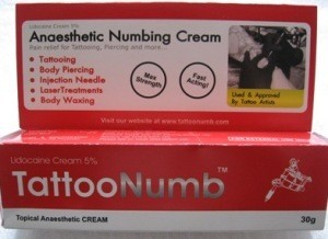 TattooNumb Creme (Lidocaine)