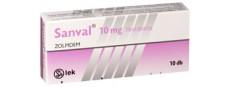 Zolpidem Sanval 10 mg