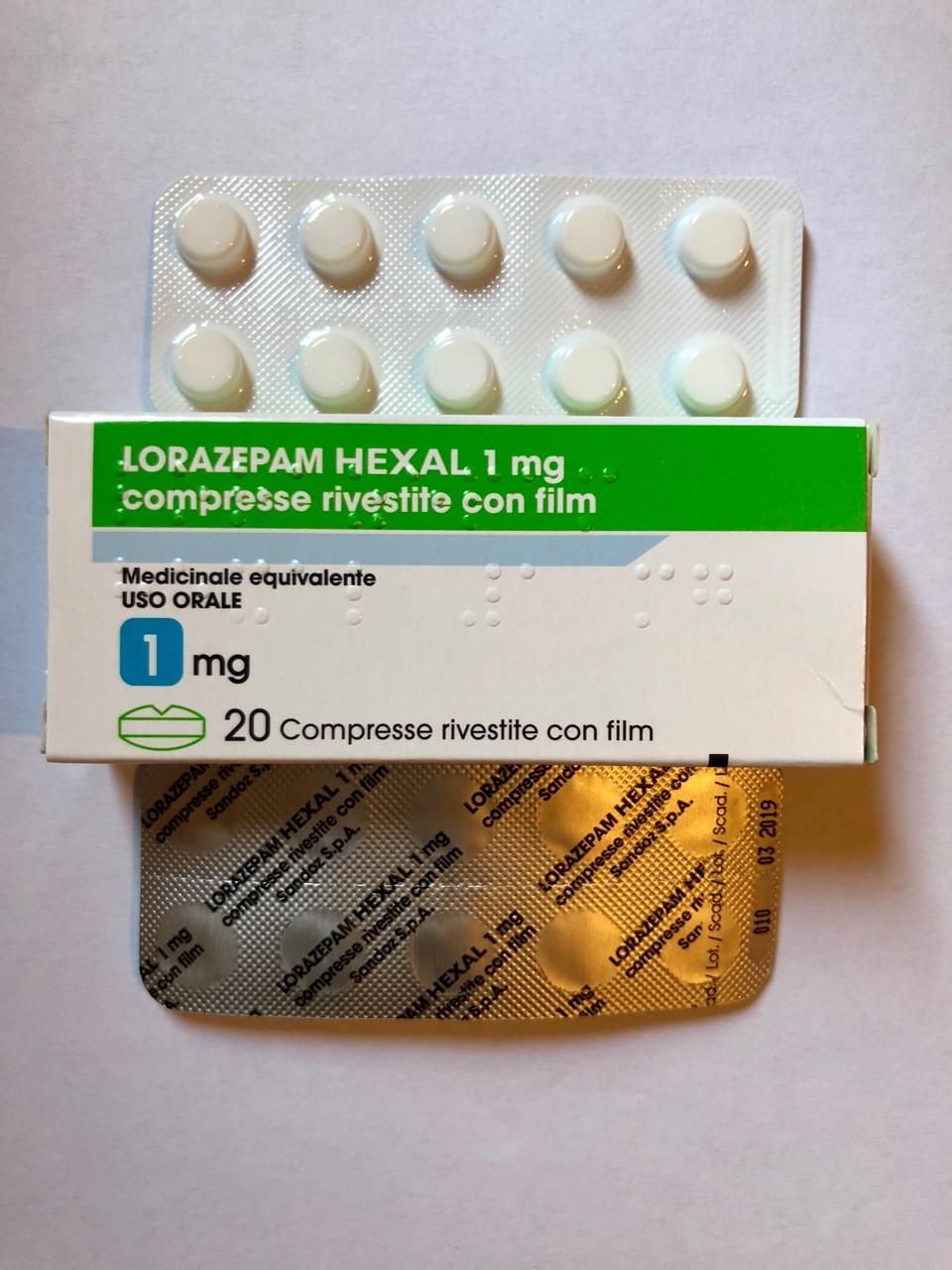 Lorazepam Originale 1 mg