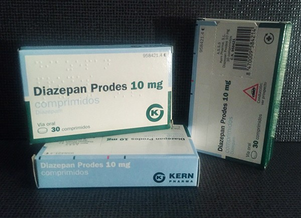 Diazepam Prodes 10mg by Kern Pharma T