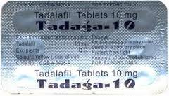 Cialis Generico (Tadalafil) 10 mg