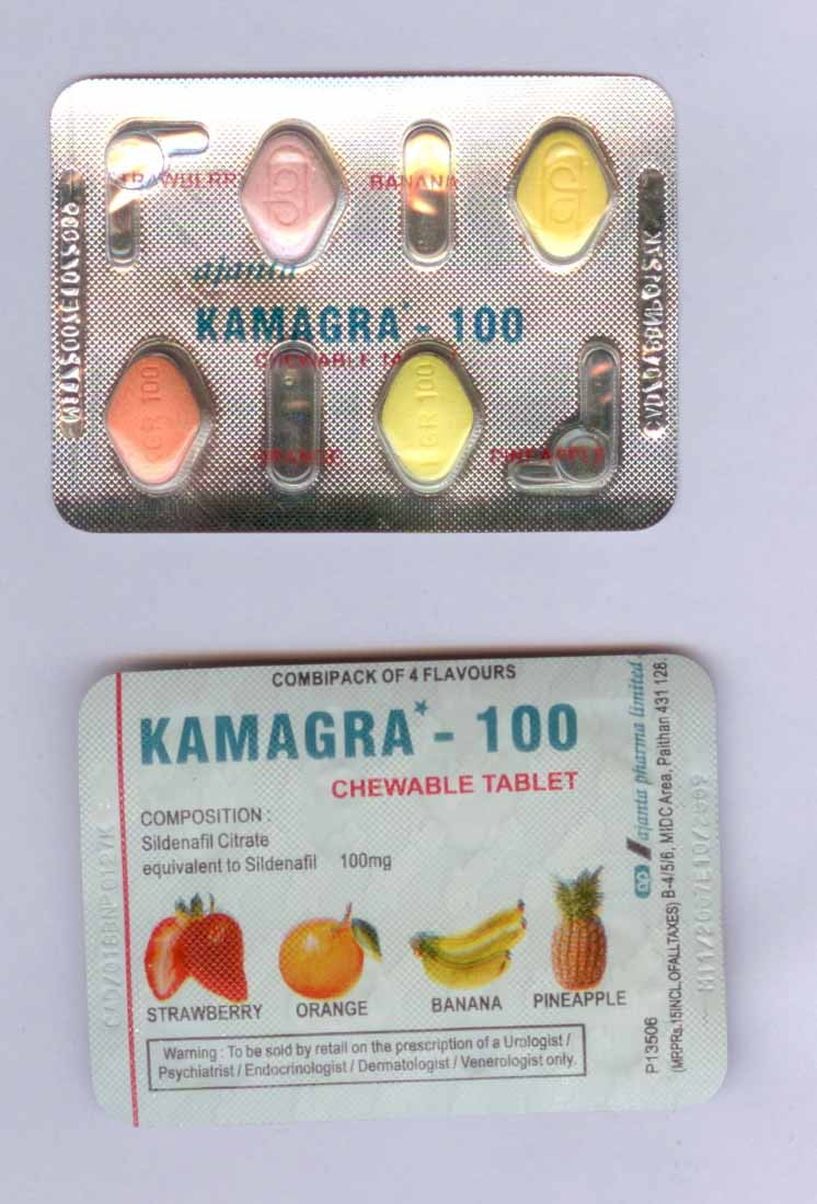 Kamagra (Viagra genérico) Masticable 100mg